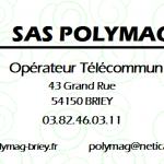 Carte visite Polymag
